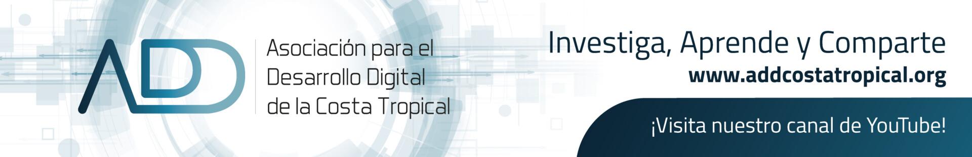 Banner de Asociación para el Desarrollo Digital de la Costa Tropical