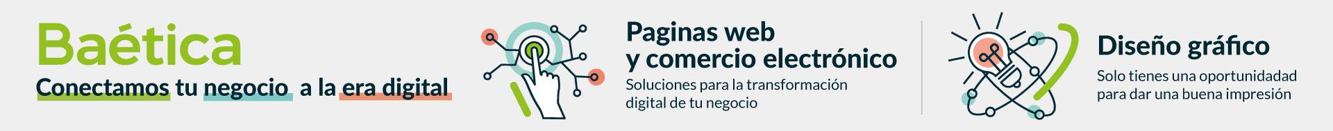 Banner de Baética (Desarrollo Web – Diseño Gráfico)