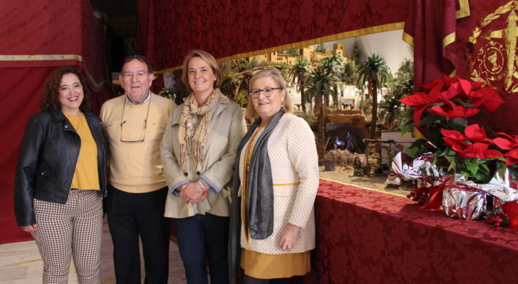 Alcaldesa visita Belén Humildad y Victoria de Motril