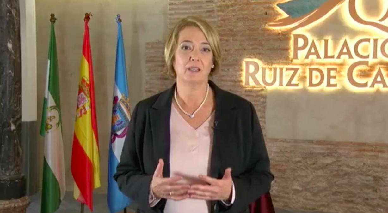 La alcaldesa de Motril, Luisa García Chamorro, discurso de Navidad