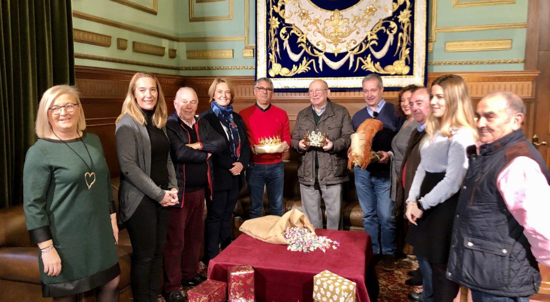 Recepción de los Reyes Magos en el Ayuntamiento de Motril