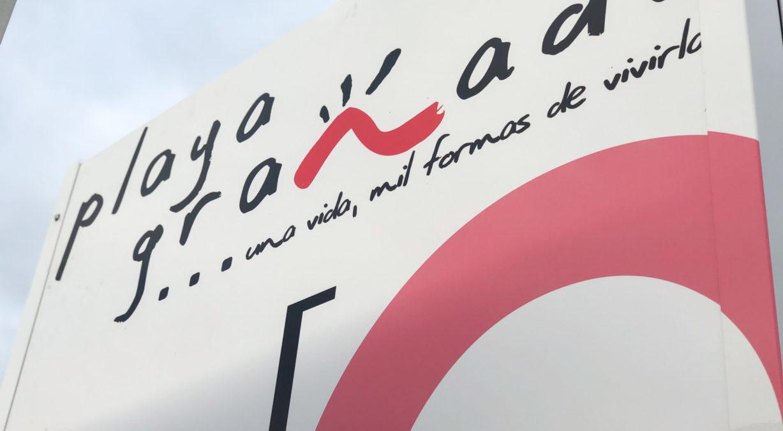 Renovación de la nueva señalética de Playa Granada
