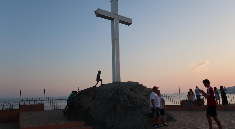 Belleza paisajística Peñón de San Cristobal de Almuñécar
