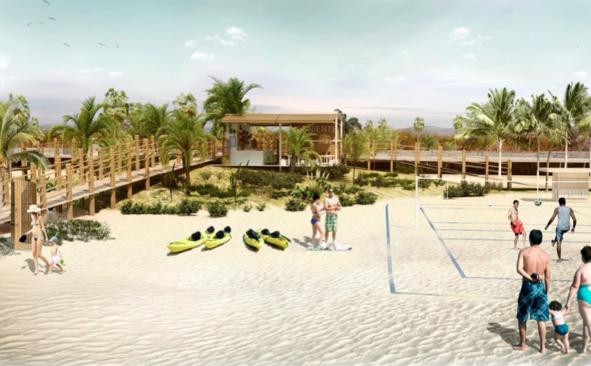 Así será la Senda del Litoral que unirá las playas de Motril