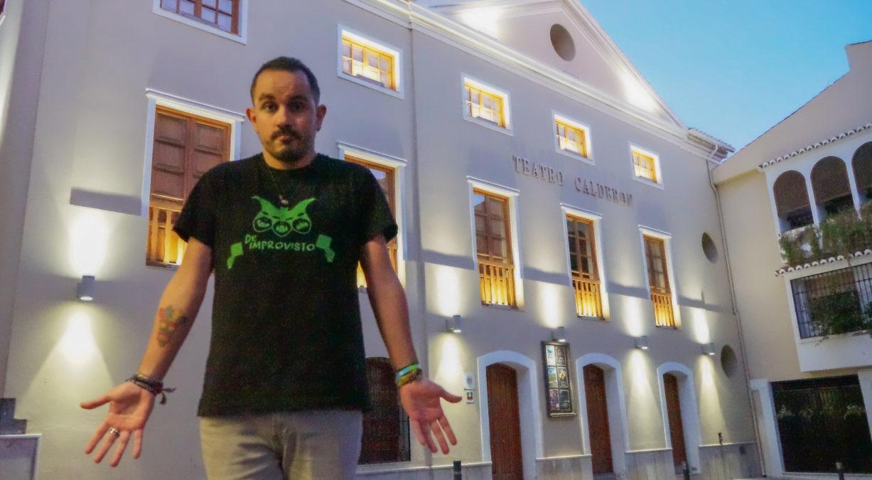 Christian Linares, improvisación teatral