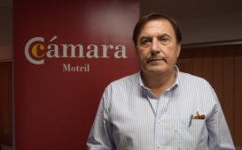 Ángel Gijón, presidente de la Cámara de Comercio de Motril