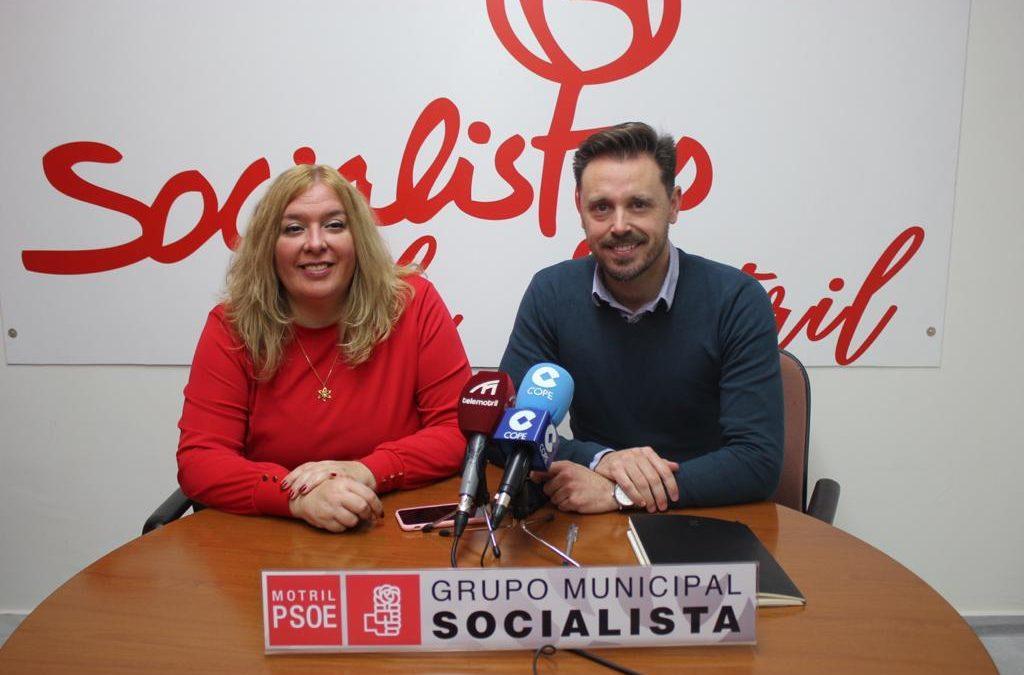 PSOE Motril, flor Almón y juan José martín arcos