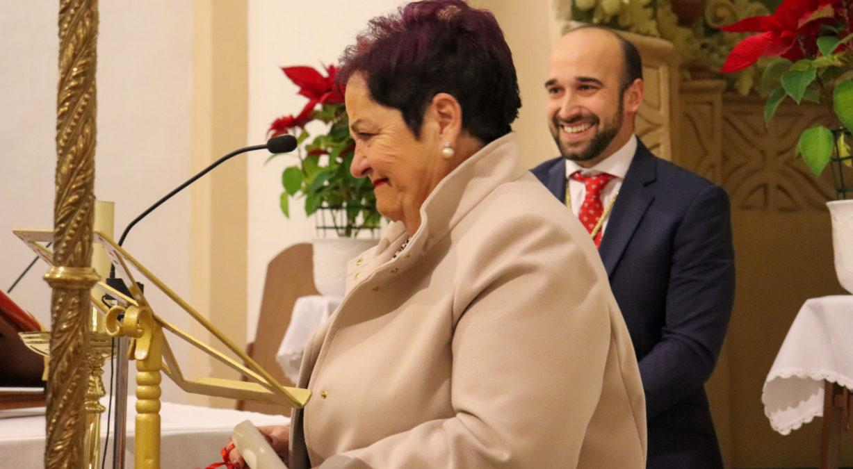 Mari Carmen Cabrera, hermana mayor honorífica de Perdón y Misericordia