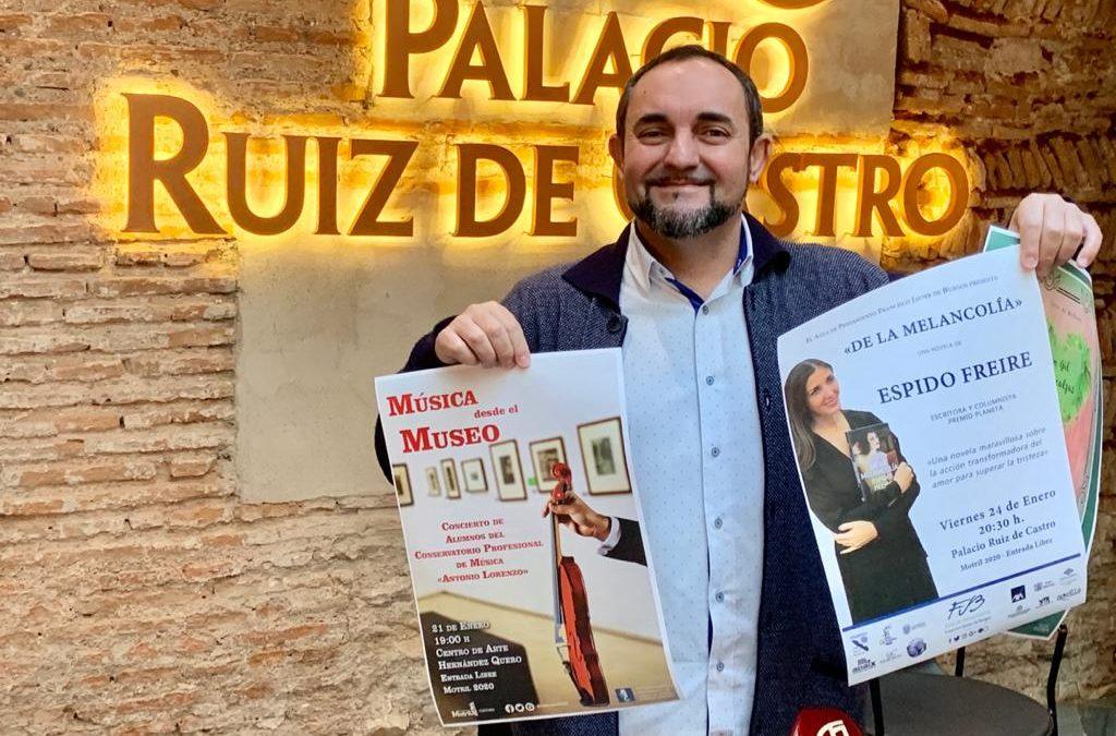 Miguel Angel Muñoz presentación programación enero 2020