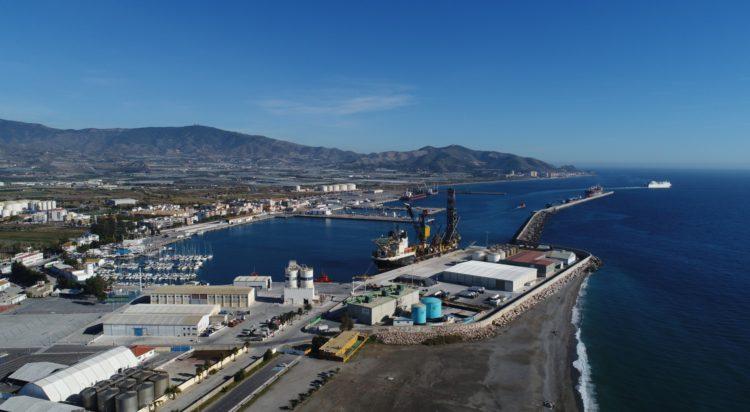 Fotografías cedidas por la Autoridad Portuaria de Motril - www.apmotril.com