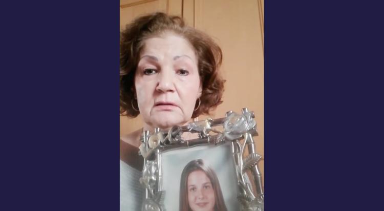 Teresa Martín, madre de la desaparecida María Teresa Fernández