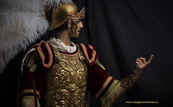 La nueva imagen del centurión romano de Madroñal Isorna para el Gran Poder