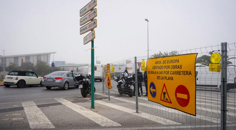 obras avenida de europa