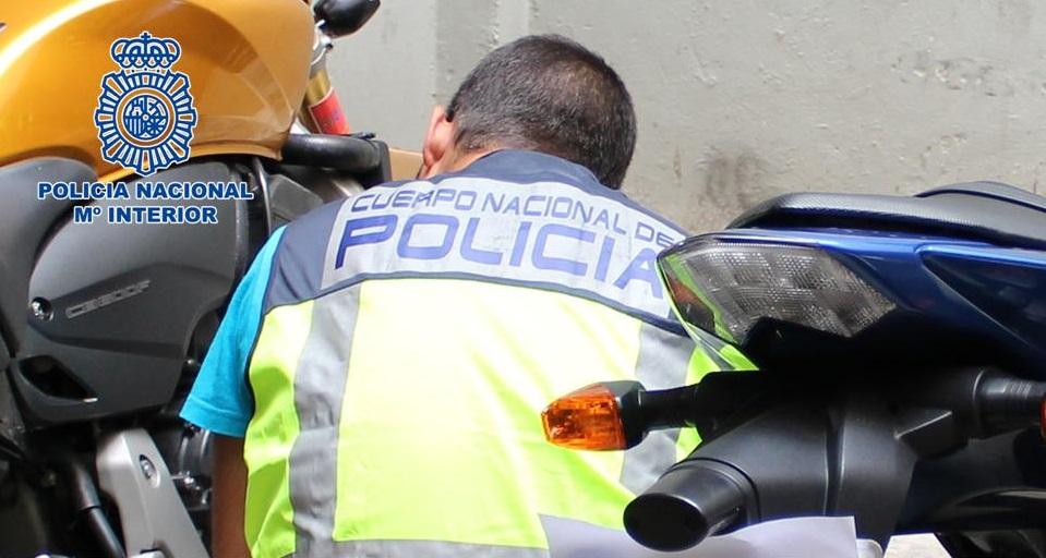 motocicletas Policia Nacional