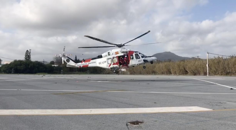 rescate helipuerto