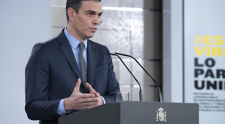 Pedro Sánchez, presidente del Gobierno de España