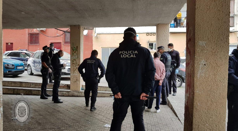 Policía Local de Motril recrudece la actuación policial