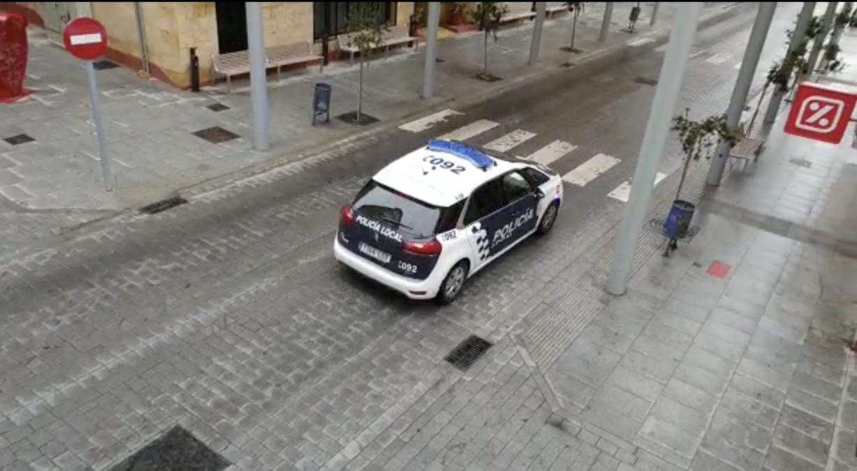 Policía Local cumple confinamiento