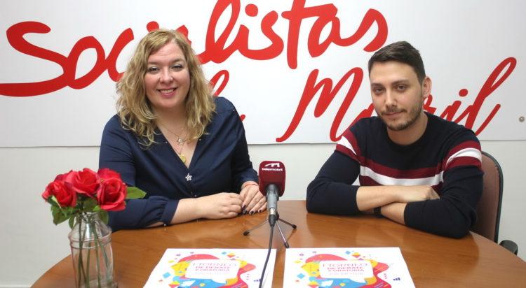 Flor Almón y Alex Toquero
