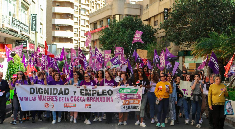 manifestación feminista 8M Motril
