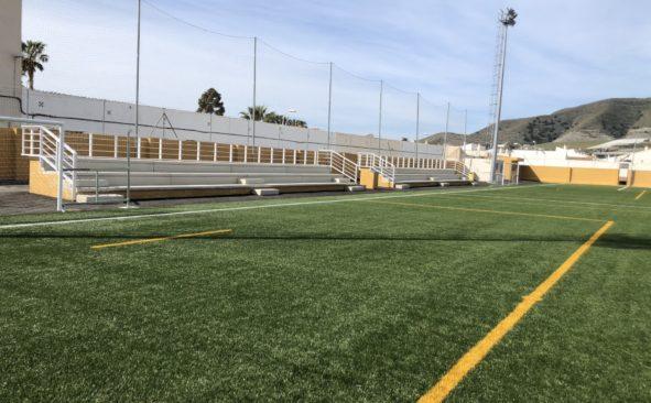 El campo de fútbol de Carchuna en fotos