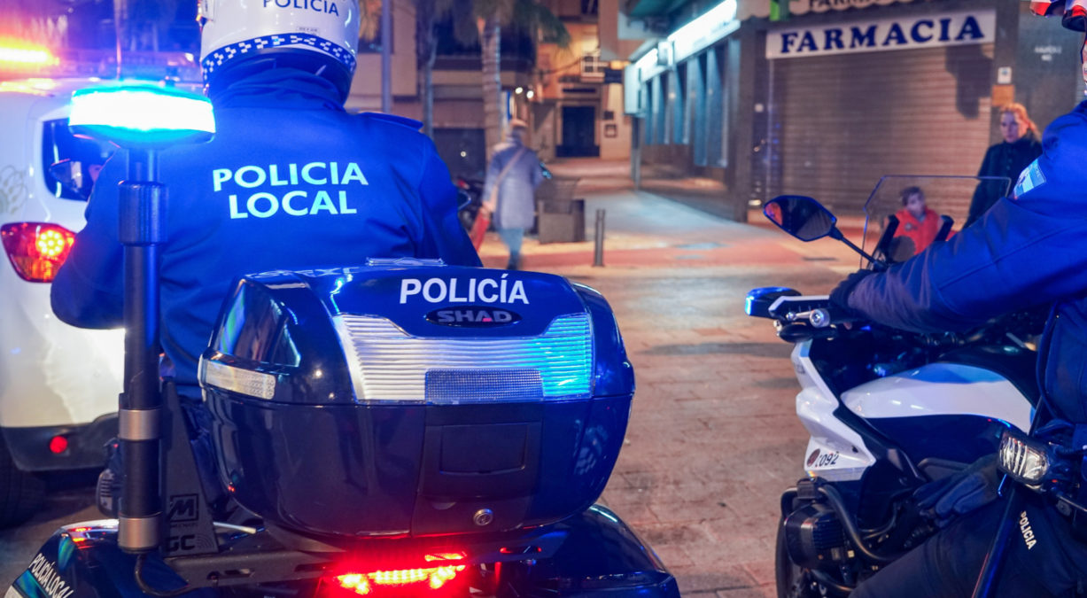 policia local sanciones coronavirus