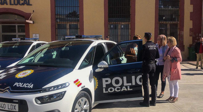 coches patrulla policía local