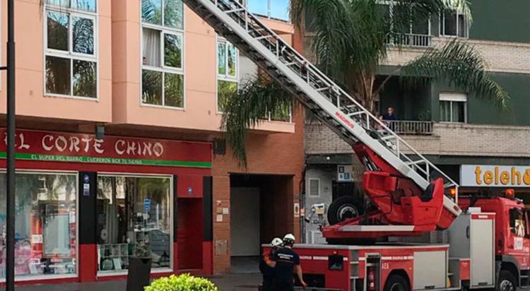 operación de rescate bomberos Motril