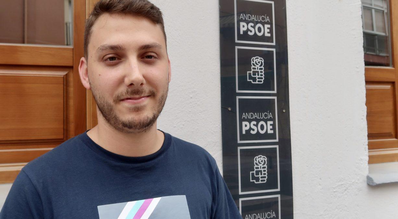 Alejandro Toquero, Juventudes Socialistas de Motril