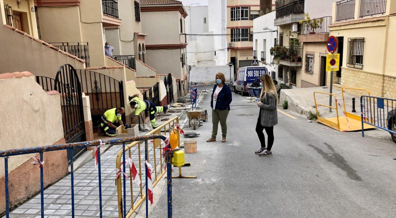 Visita obras calle Monjas