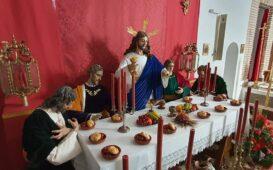 cristo de la fe santa cena