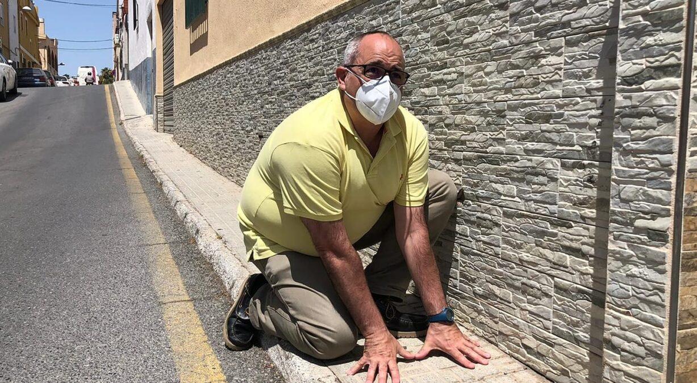 David Martín calle Gravina