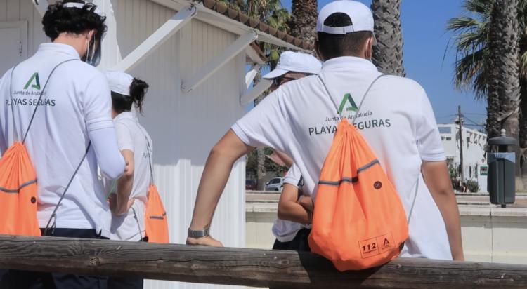 auxiliares de playas junta de Andalucía
