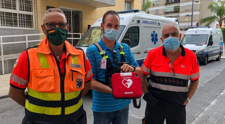 salvan la vida de un hombre en Motril en parada cardiorespiratoria