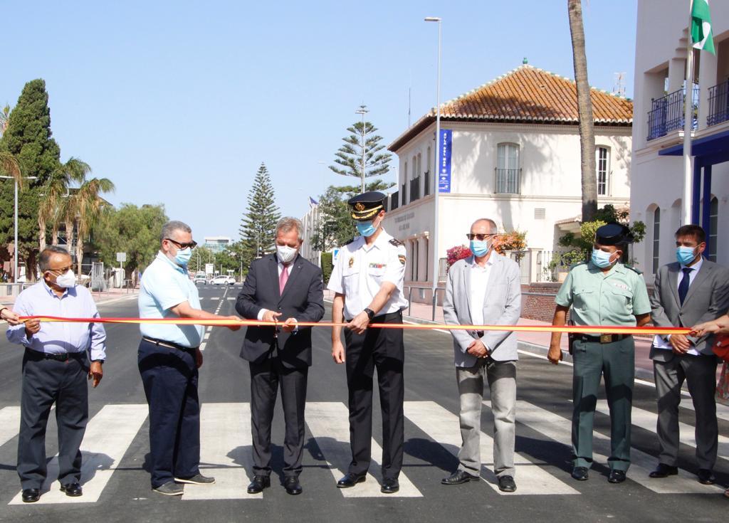 puerto de motril inauguración del vial principal