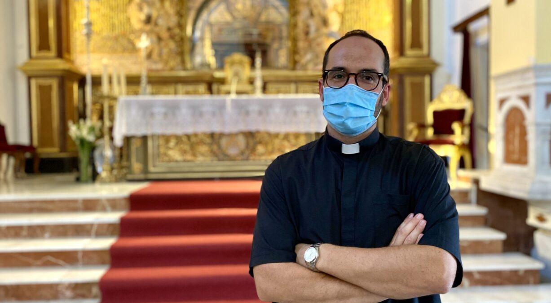 Daniel Barranco, nuevo párroco Santuario Virgen de la Cabeza