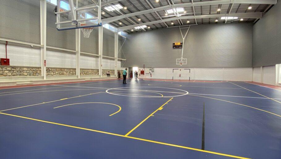 Así es el nuevo pabellón cubierto del polideportivo de Motril en el que se han invertido casi 1,2 millón de euros