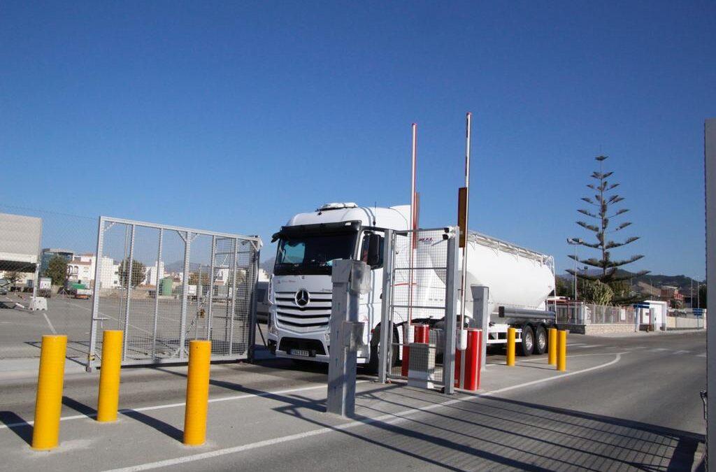 control de acceso puerto de motril