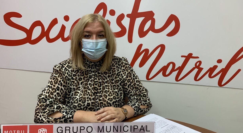 Flor Almón en rueda de prensa