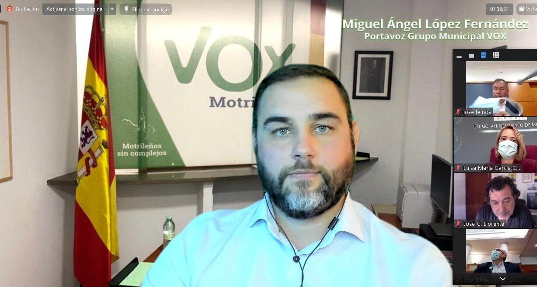 Miguel Ángel López vox