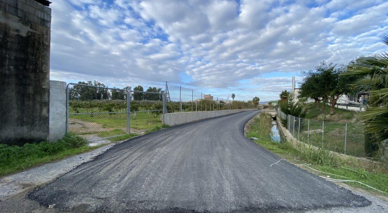 camino rural Las Algaidas de Motril