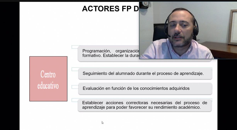 ignacio de Benito jornada FP Dual Cámara de Comercio de Motril
