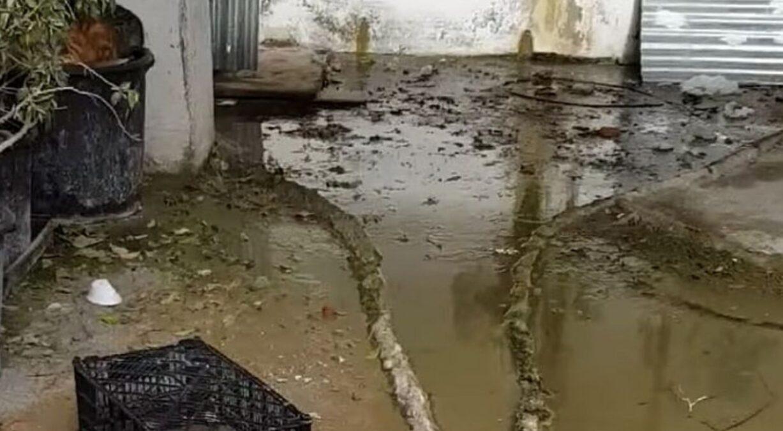 El PSOE alerta de la acumulación de aguas fecales en edificios del barrio del Cerrillo, una situación peligrosa para la salud y la estructura de las viviendas
