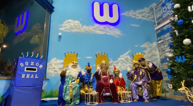los reyes magos visitan wiber
