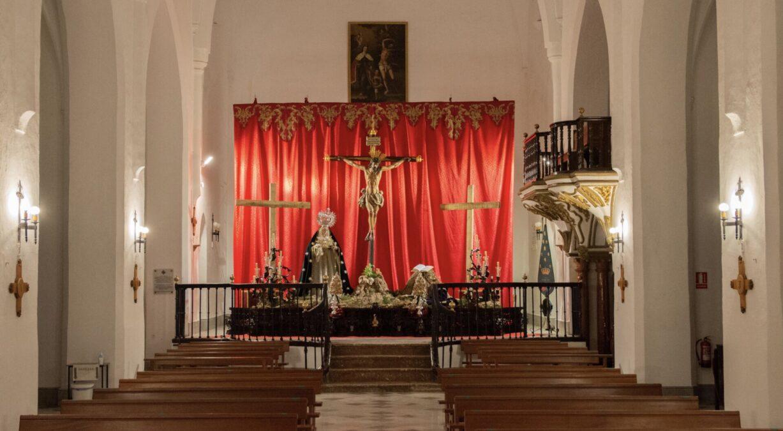altar efímero Vera Cruz semana santa motril