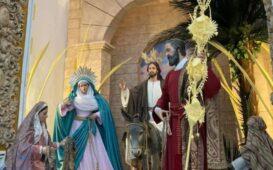 borriquita altar semana santa 2021