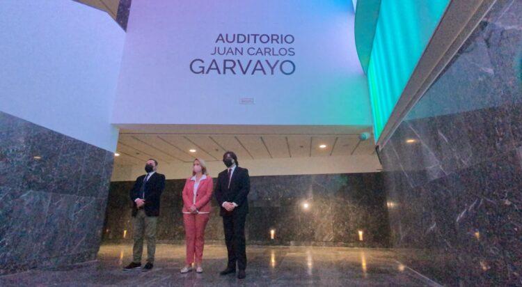 Auditorio Juan Carlos Garvayo